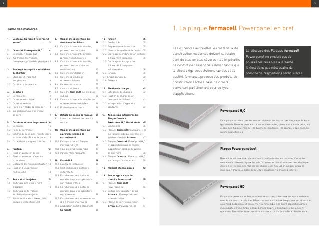 fermacell powerpanel h2o informations sur le produit et consignes d. Black Bedroom Furniture Sets. Home Design Ideas