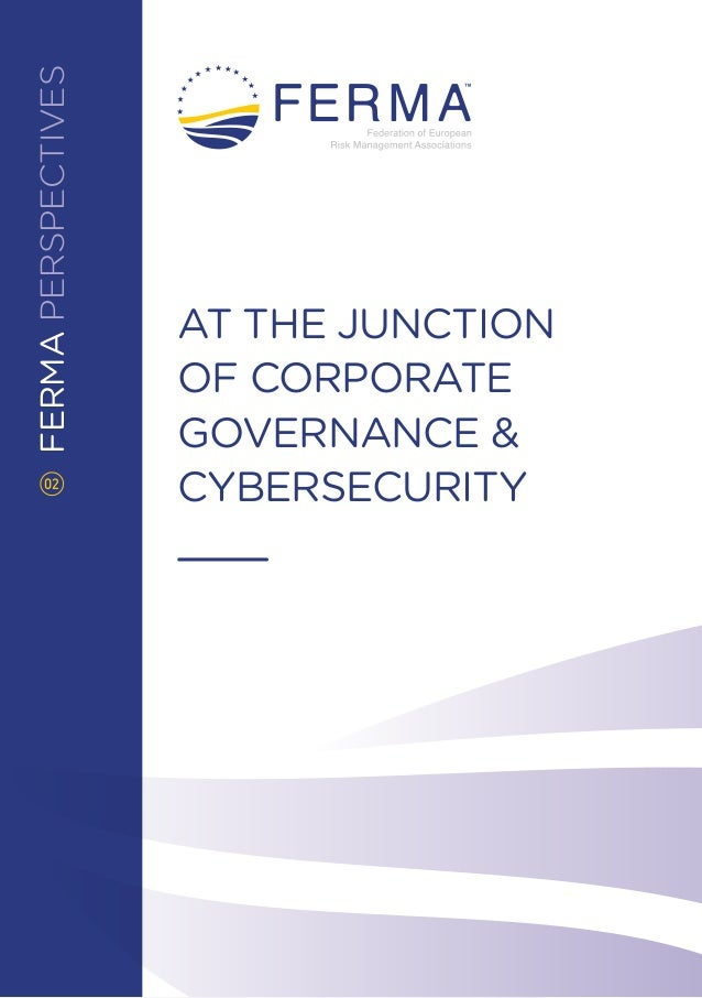 FERMAPERSPECTIVES AT THE JUNCTION OF CORPORATE GOVERNANCE & CYBERSECURITY02