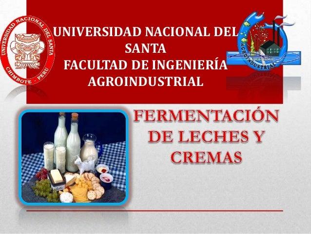 UNIVERSIDAD NACIONAL DEL SANTA FACULTAD DE INGENIERÍA AGROINDUSTRIAL