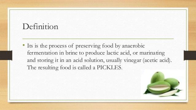 Fermented food pickle Slide 3