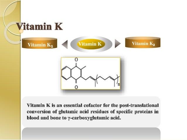 . Vitamin KVitamin K₂ Vitamin K₂Vitamin K₁