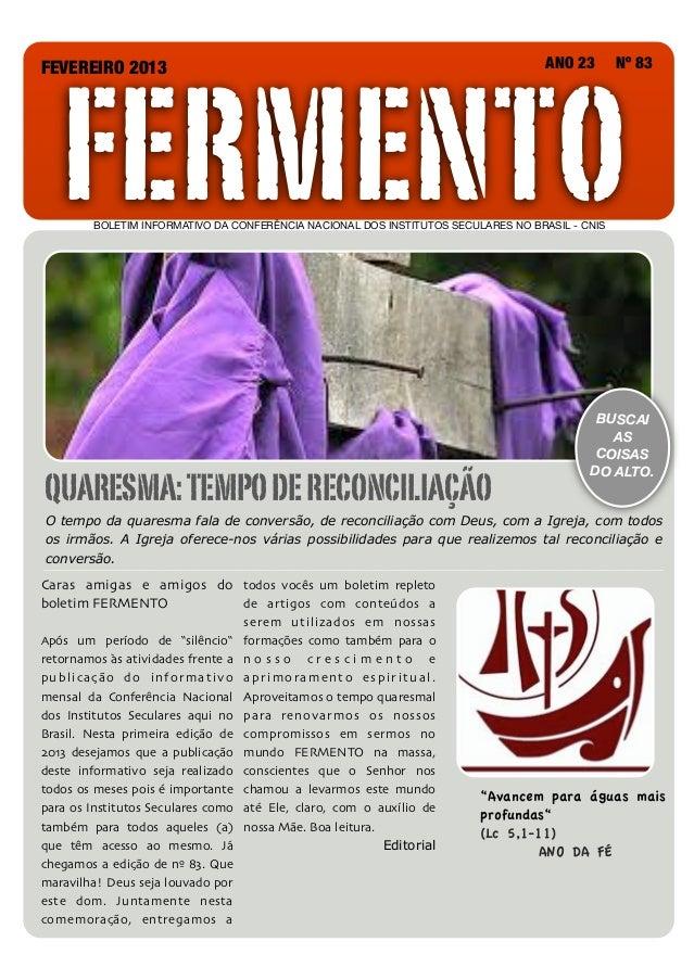 FERMENTOFEVEREIRO 2013                                                                                         ANO 23   Nº...