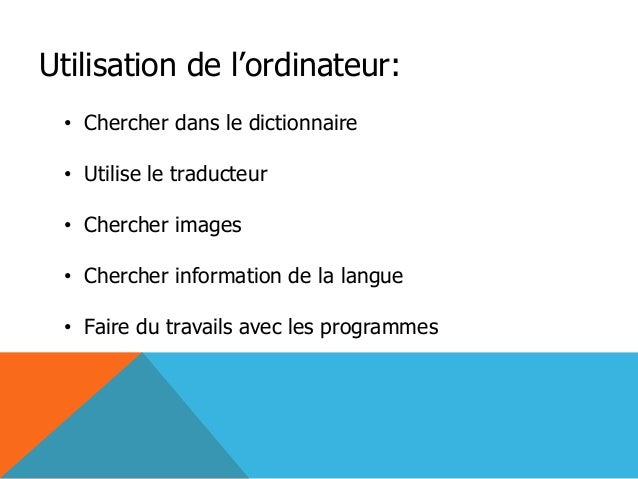 Fernanda fiallos power point - Office de la langue francaise dictionnaire ...