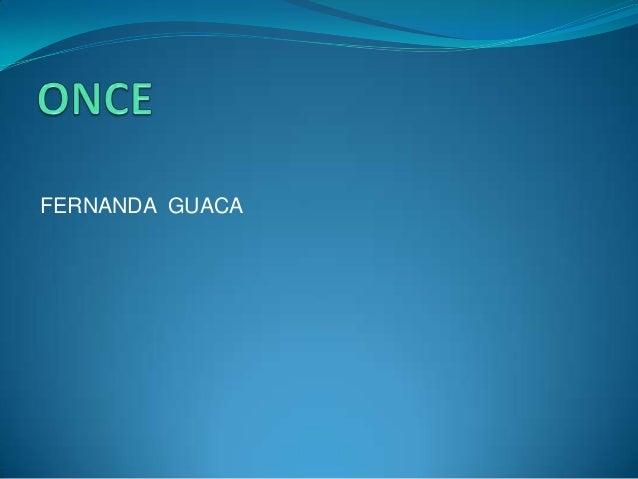 FERNANDA GUACA