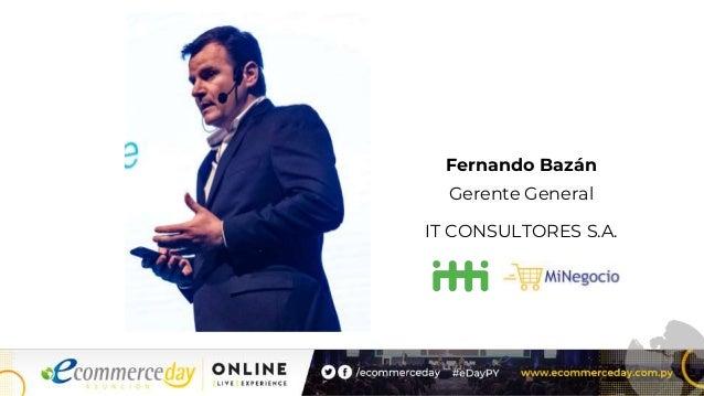 Fernando Bazán Gerente General IT CONSULTORES S.A.