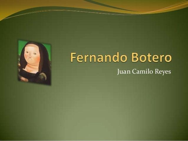 Fernando Botero Powerpoint