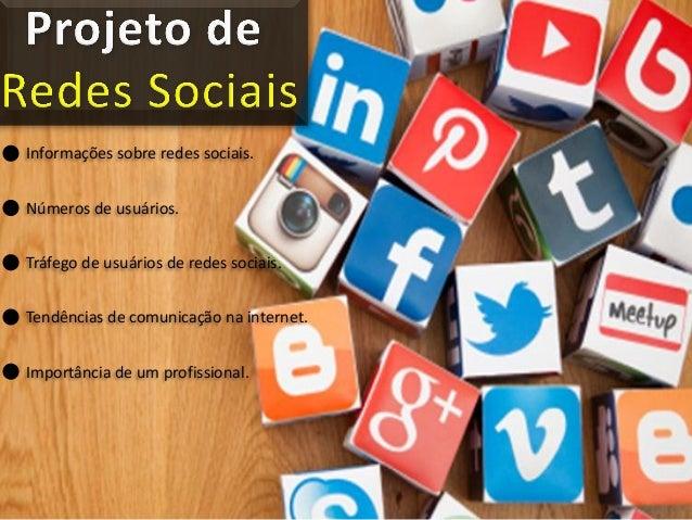 Informações sobre redes sociais. Números de usuários. Tráfego de usuários de redes sociais. Tendências de comunicação na i...