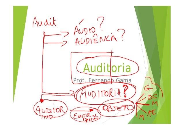 Auditoria Prof. Fernando Gama