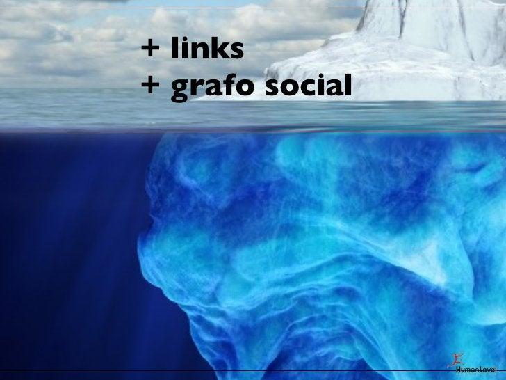+ links+ grafo social+ relevancia on page+ indexación