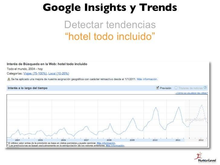 """Google Insights y Trends   Detectar tendencias   """"hotel todo incluido""""                           31"""