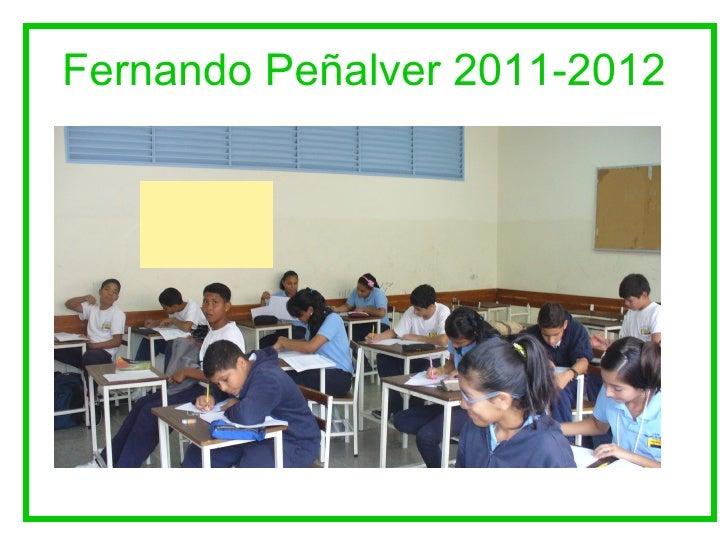 Fernando Peñalver 2011-2012