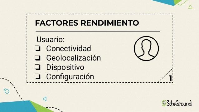 FACTORES RENDIMIENTO Core Plataforma o framework CMS Software Ad hoc 4