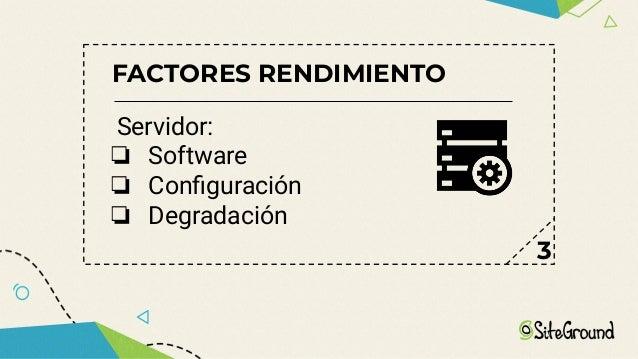FACTORES RENDIMIENTO Diseño: ❏ Visual ❏ Lógico - 6