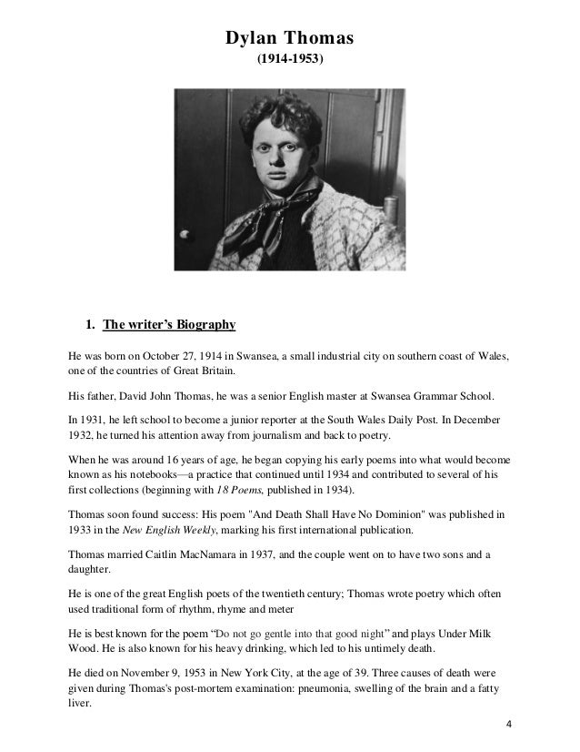 an analysis of fern hill a poem by dylan thomas Dylan thomas — fern hill now as i was young and easy under the apple boughs about the lilting house and happy as the grass was green, the night above the.