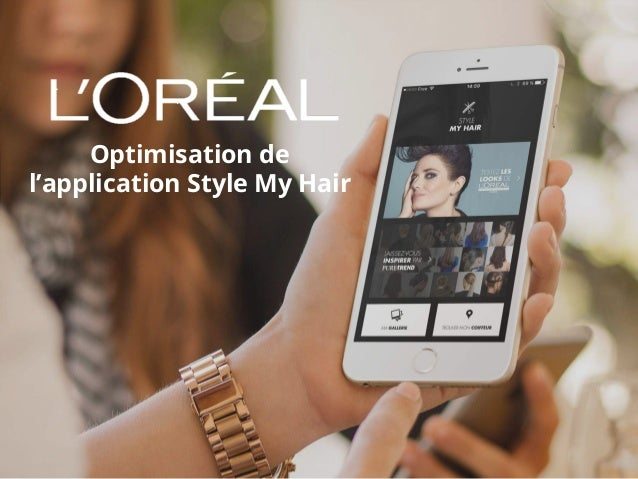 Optimisation de l'application Style My Hair