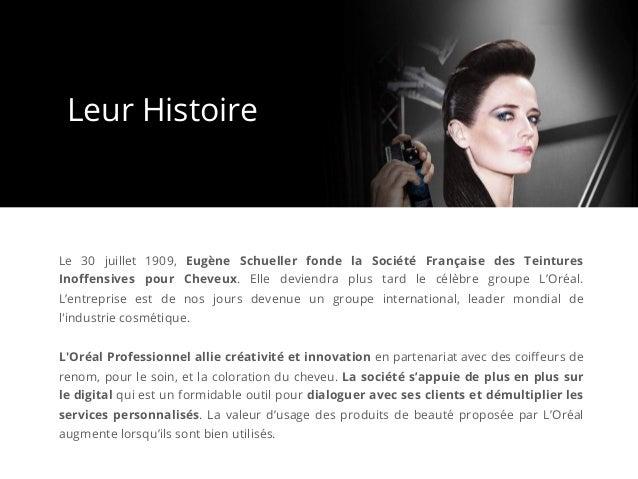 Le 30 juillet 1909, Eugène Schueller fonde la Société Française des Teintures Inoffensives pour Cheveux. Elle deviendra plu...