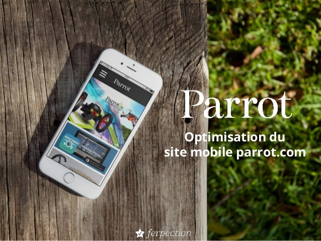 Optimisation du site mobile parrot.com