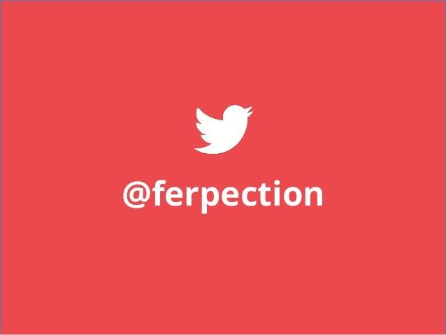 Ferpection pour meetup Qualité des Applications Mobiles Slide 3
