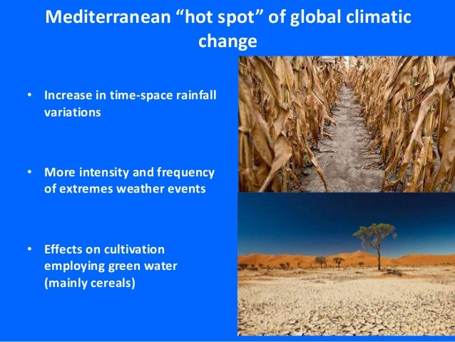 Geopolitical Implications of Water and Food Security in Southern and Eastern Mediterranean Countries Slide 3