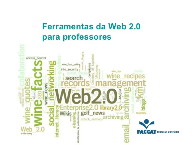 Ferramentas da Web 2.0para professores