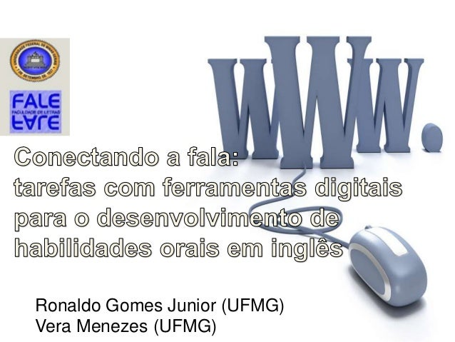 Ronaldo Gomes Junior (UFMG) Vera Menezes (UFMG)