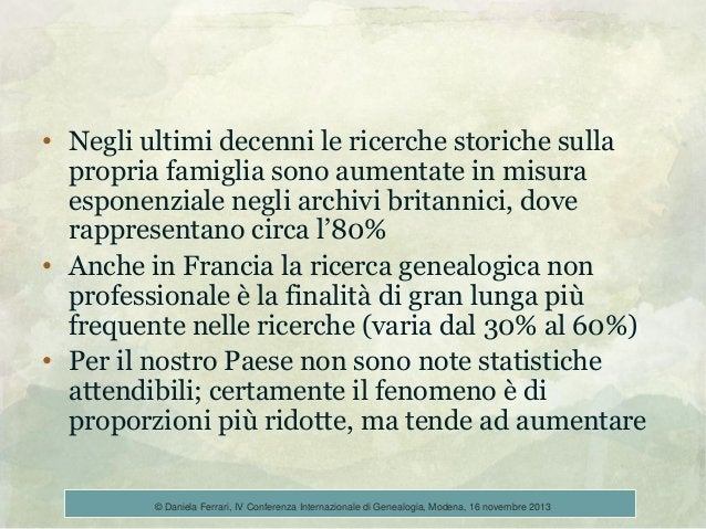 • Negli ultimi decenni le ricerche storiche sulla propria famiglia sono aumentate in misura esponenziale negli archivi bri...