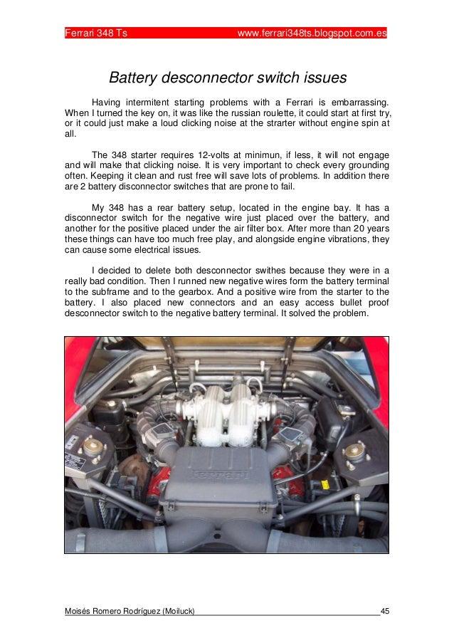 Prime Ferrari 348 Ts English Wiring Database Wedabyuccorg