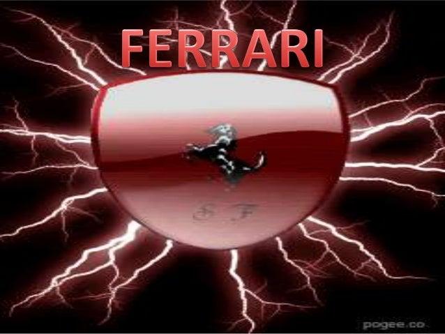Nuestra historia empieza enMaranello Italia donde unpequeño llamado Enzo FerrariSoñaba con poder crear losmejores carros d...