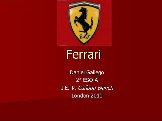 Ferrari Daniel Gallego 2 ESO A I.E. V. Cañada Blanch London 2010
