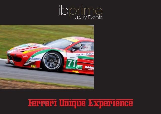 Ferrari last minute