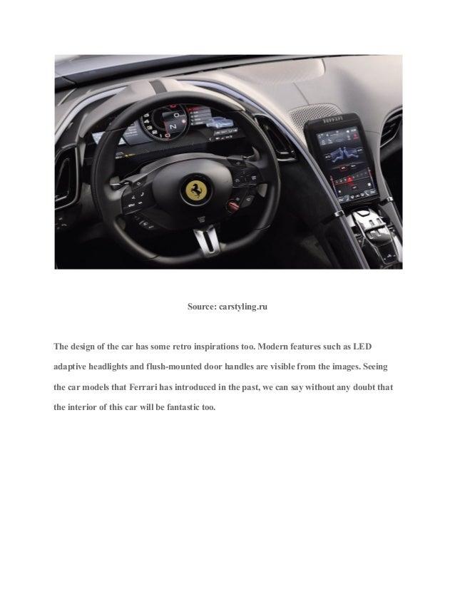 Ferrari roma unveiling price, specs, and design explained