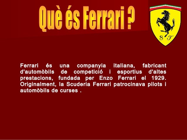 PowerPoint Ferrari Slide 3