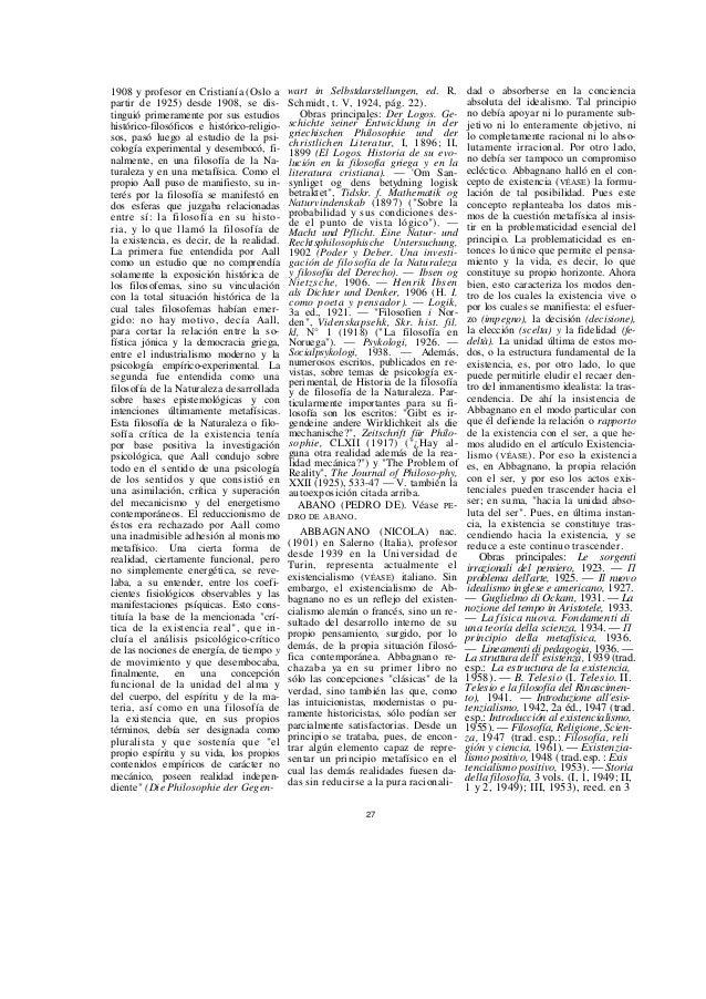 vols., 1953-54) (trad. esp.: Historia de la filosofía, 2 vols., 1955-56). — Storia del pensiero scientifico, 1951 y sigs. ...