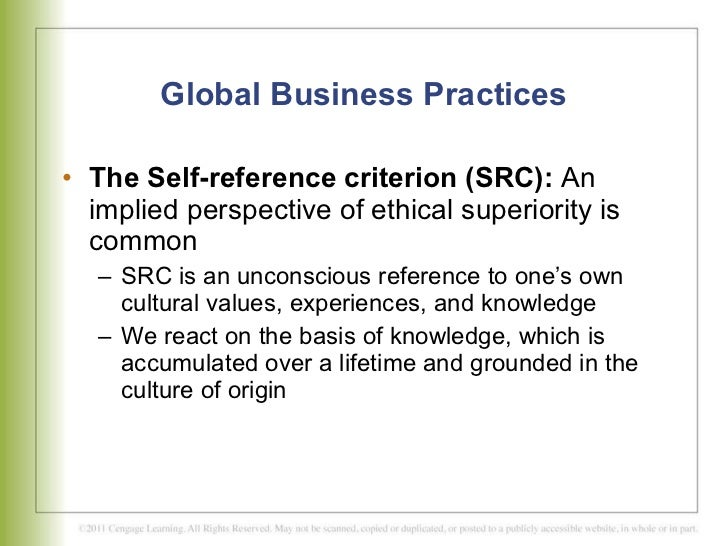 global business practices