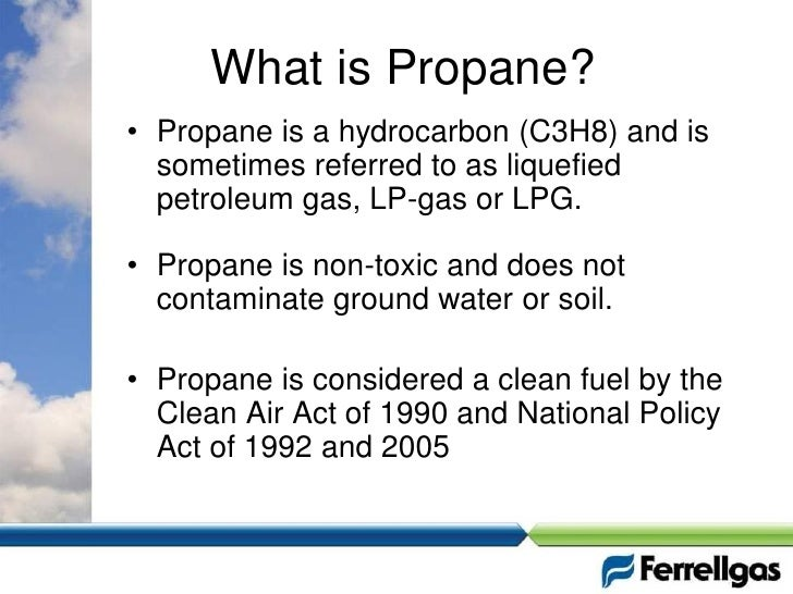 What Is Propane >> Propane As A Vehicle Fuel The Basics