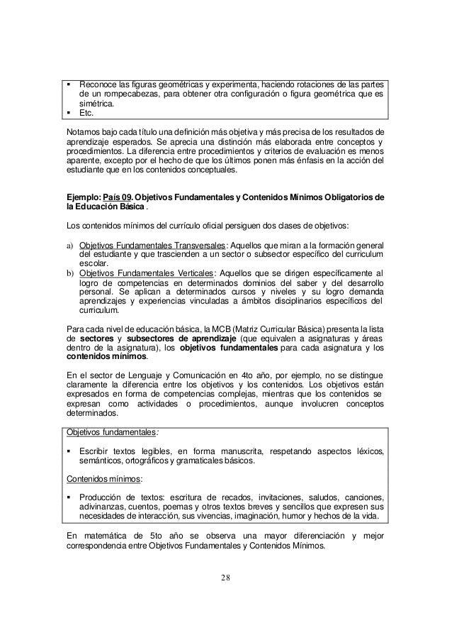 Ferrer aspectos curriculum