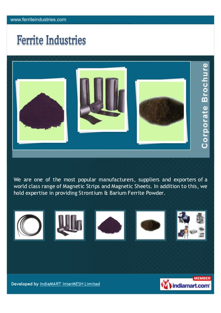 We are one of the most popular manufacturers, suppliers and exporters of aworld class range of Magnetic Strips and Magneti...