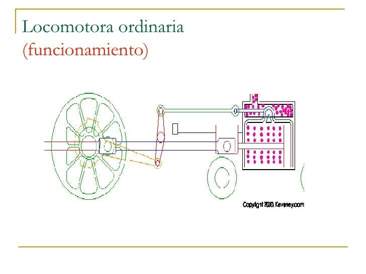 Locomotora ordinaria (funcionamiento)