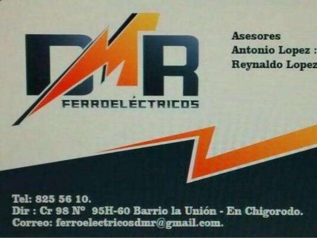 Ferro eléctricos DMR, comercializadora local de  productos en categoría de: herramientas, electricidad,  cerraduras, fijac...