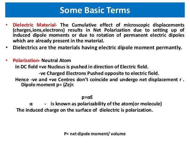 Ferroelectric and piezoelectric materials Slide 2