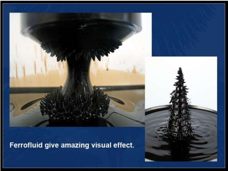Ferrofluid materials news