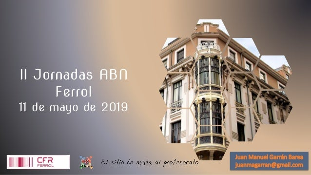 II Jornadas ABN Ferrol 11 de mayo de 2019