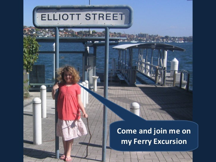 Come and join me on my Ferry Excursion
