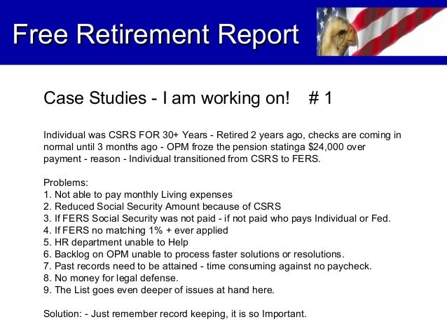 best csrs retirement dates 2014