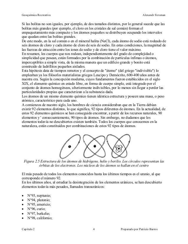 Fersman Geoquimica Recreativa Ebook Geologia Quimica