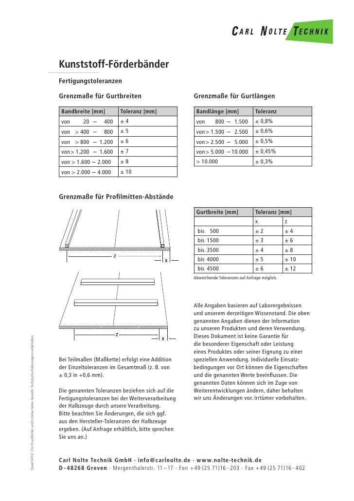 Kunststoff-Förderbänder                                                                                              Ferti...