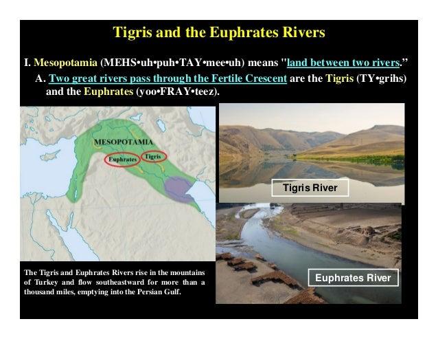 Fertile Crescent [PDF] Fertile Crescent Rivers