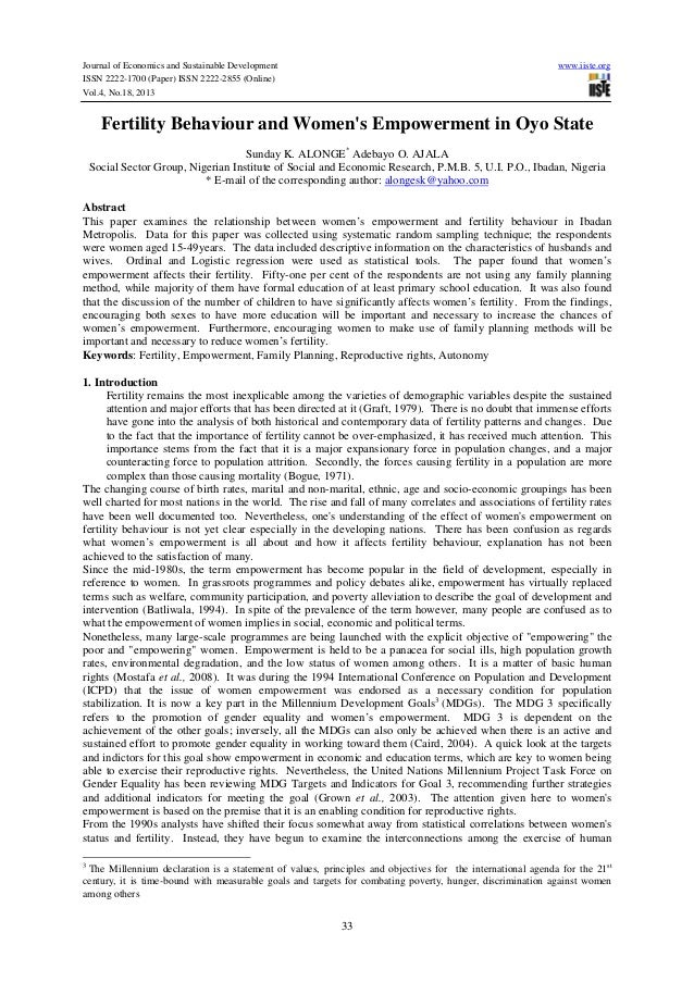 Journal of Economics and Sustainable Development ISSN 2222-1700 (Paper) ISSN 2222-2855 (Online) Vol.4, No.18, 2013  www.ii...