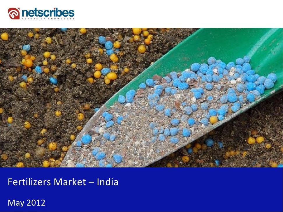FertilizersMarket– IndiaMay2012