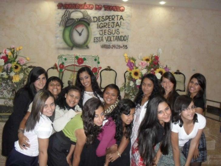 Festa da juventude da GUERREIROS DO REI